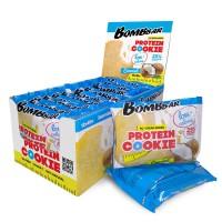 Низкокалорийное протеиновое печенье Bombbar Кокос (40г)
